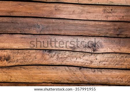 Surface of wood background. - stock photo