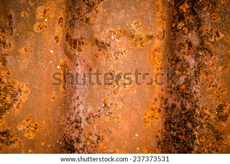 Surface rust background - stock photo