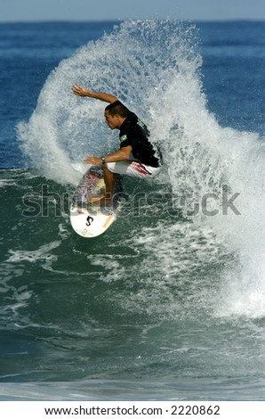 surfer - stock photo