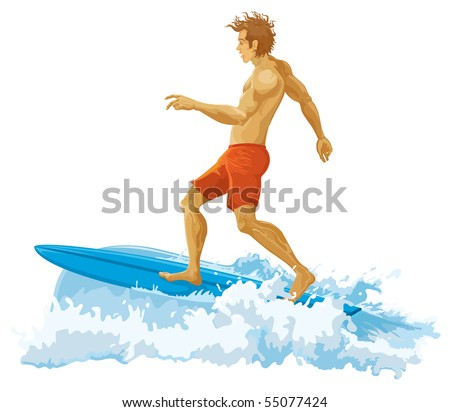 Surfer without gradients. JPEG version.