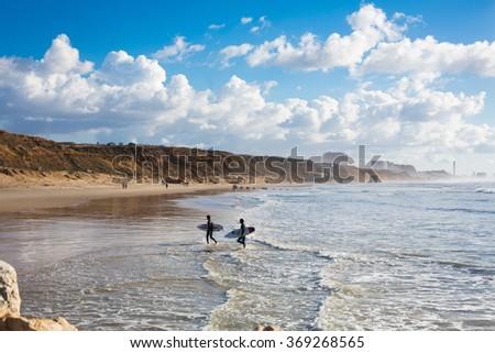 surfers paradise - stock photo