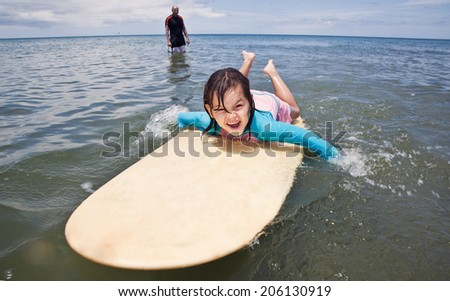 surfing - stock photo