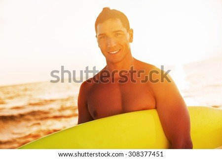 Surfing. - stock photo