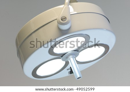 Surgery lamp - stock photo