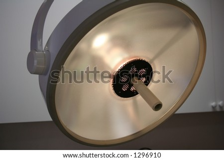 surgery light - stock photo