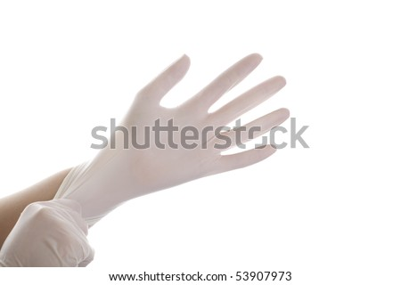 Surgical Gloves - stock photo