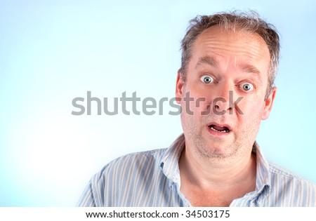 Surprised - stock photo