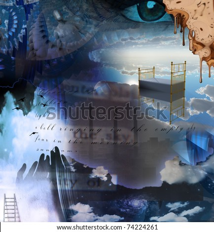 Surreal Abstract - stock photo