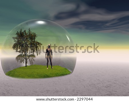 Surreal scene - global warming. More in my portfolio.