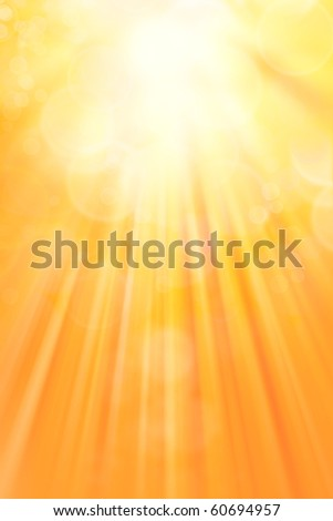 Surreal yellow tone vertical background - stock photo