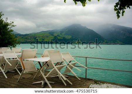 Surroundings Of Spiez Castle, Switzerland
