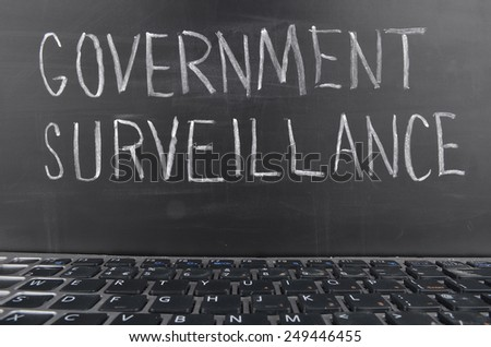 Surveillance - stock photo