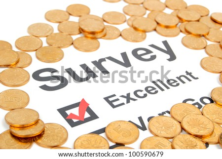 Survey - stock photo