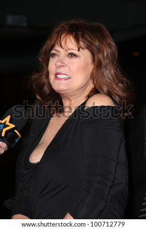"Susan Sarandon at the ""Jeff Who Lives at Home"" Film Premiere, Directors Guild of America, Los Angeles, CA 03-07-12"