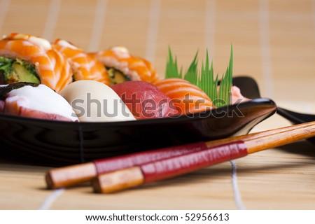 Sushi. Photo - stock photo