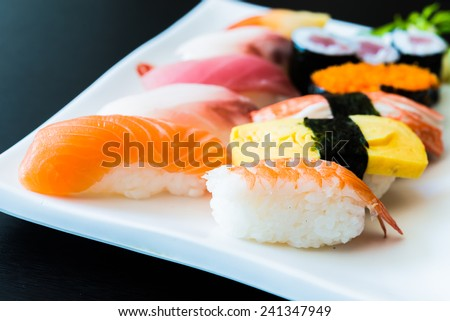 Sushi roll - japanese food