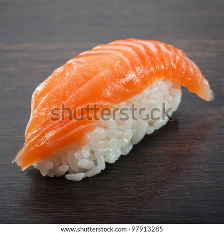 sushi sashimi - stock photo