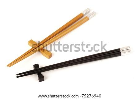 sushi sticks - stock photo