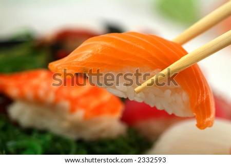 sushi susi - stock photo