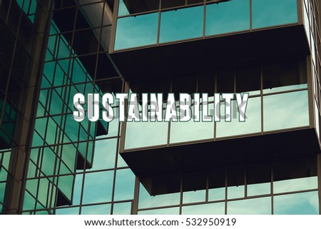 Sustainability, Business Concept