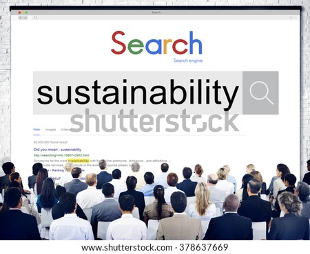 Sustainability Environmental Conservation Resources Ecology Concept