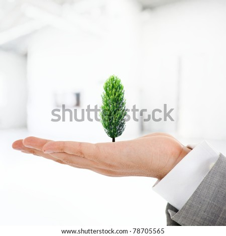 Sustainable development - stock photo