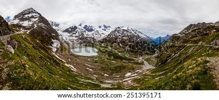Sustenpass, Switzerland - stock photo