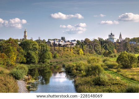 Suzdal.The Golden Ring of Russia - stock photo
