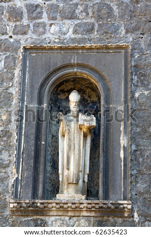 Sveti Vlaho (Saint Blaise) - patron saint of the city of Dubrovnik, Croatia