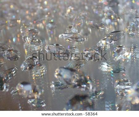 Swarovski Diamonds - stock photo