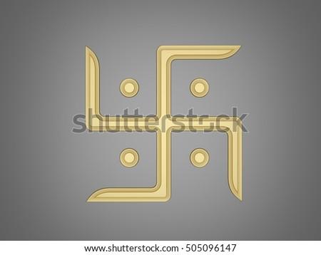 Swastika Symbol Stockillustratie 505096147 Shutterstock