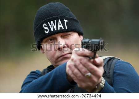 swat - stock photo