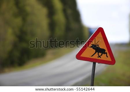 sweden traffic - stock photo