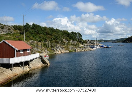Swedish Archipelago - stock photo