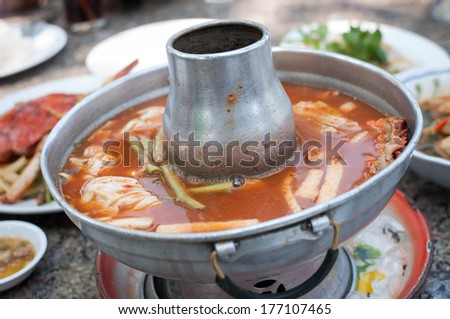 Sweet And Sour Soup Or Tom Som Soup Is Thailand S Famous Soup