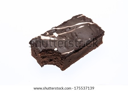 Sweet and tasty chocolate brownies  cake great for during coffee break