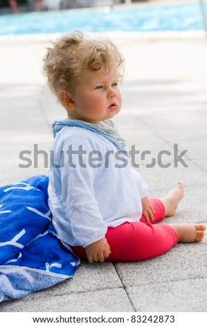 sweet baby - stock photo