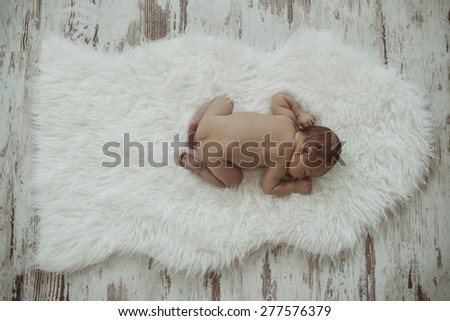 Sweet baby / Photo from a newcomer - stock photo