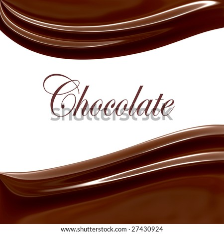 Sweet Chocolate, Also See Vector In My Portfolio - stock photo