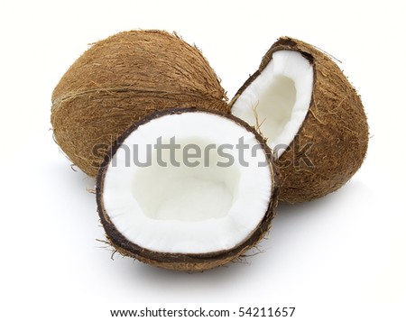 Sweet cocos - stock photo