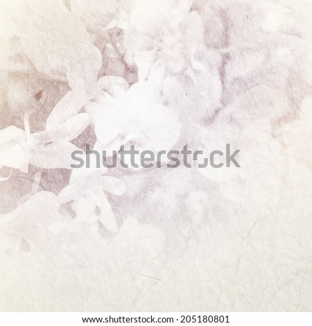 sweet color orchid on mulberry paper texture