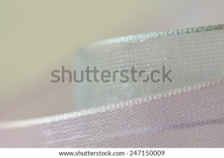 Sweet color pastel tone of ribbons for the background