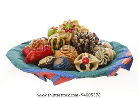 sweet cookies - stock photo