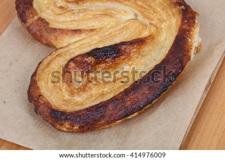 Sweet crust pastry fresh baked for breakfast - stock photo