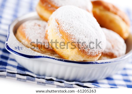 sweet doughnuts - stock photo