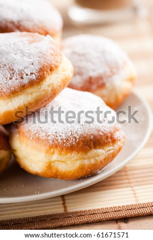 sweet doughnuts - stock photo