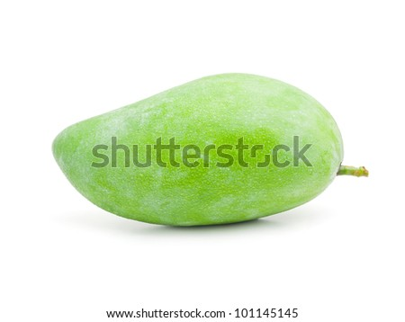 Sweet green mango - stock photo