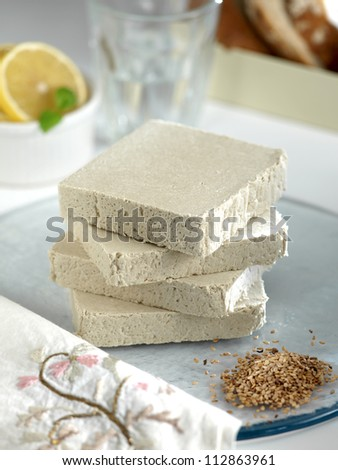 sweet halva - stock photo