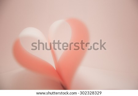 sweet Heart Paper Blurry soft Abstract backgrounds