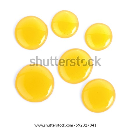 Sweet honey isolated on white background